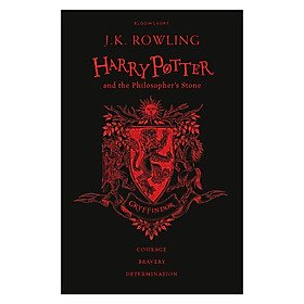 Harry Potter Part 1: Harry Potter And The Philosopher's Stone (Hardback) Gryffindor Edition (English Book)