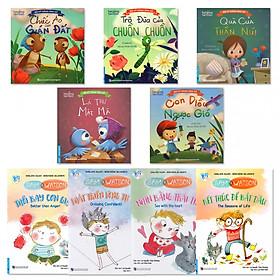 Combo 2 bộ sách hay dạy bé ứng xử: Bộ Kỹ Năng Ứng Xử Dành Cho Bé (5 cuốn) + Sam & Watson (4 cuốn)