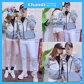 Áo Khoác Dù Nam Nữ Unisex , thời trang thu đông thương hiệu Chandi chất liệu thấm hút mồ hôi dày dặn mặc thoáng mát KD09