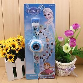 Đồng hồ công chúa ELSA CHIẾU HÌNH cho bé gái