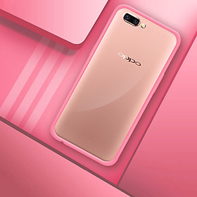 Hình đại diện sản phẩm Collen OPPO R11 Mobile Shell Cover R11 Fallen Full Enclosure Soft Crystal clear Color powder