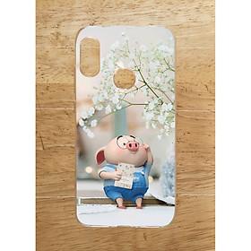 Ốp Lưng Dùng Cho Xiaomi Mi A2 Lite / Redmi 6 Pro (Dẻo) - Heo Đọc Sach