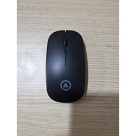 Chuột không dây A2 thiết kế thon gọn, không tạo tiếng ồn, có cổng micro USB để sạc, Led 7 màu sinh động