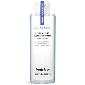 Nước Tẩy Trang Từ Blueberry Innisfree Blueberry Rebalancing Cleansing Water 200ml - 131171580