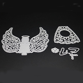 Angel Carbon Steel Cutting Dies Set Knife Mold Stencils DIY Scrapbooking Die Cuts Decor Crafts Embossing Templates Art Cutter