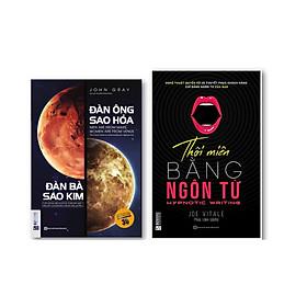 Bộ 2 Cuốn Tư Duy - Kỹ Năng Làm Thay Đổi Cộc Đời : Đàn ông sao hỏa, đàn bà sao Kim và  Thôi miên bằng ngôn từ (bìa tím)