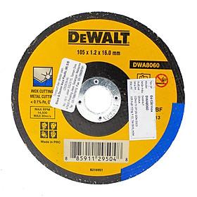 Đá cắt inox 100 x 1.2 x 16mm T1 DeWALT DWA8060-B1
