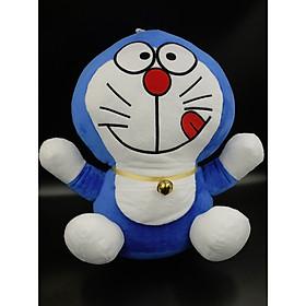 Gấu Bông/ Thú Nhồi Bông Doraemon 35 Cm (Tặng kèm móc khóa da bò thật màu ngẫu nhiên) BA00151