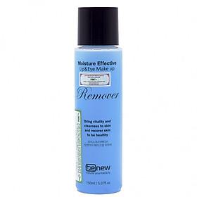 Tẩy trang Môi Mắt dưỡng ẩm Benew Moisture Effective Lip & Eye Make Up Remover (150ml) – Hàng Chính Hãng