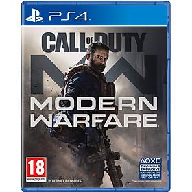 Đĩa Game PS4 Call of Duty Modern Warfare 2019 Hệ US - Hàng Nhập Khẩu