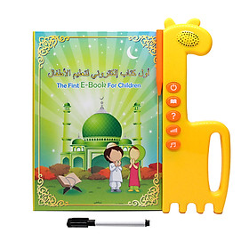 2 in 1 Sound Board Book for Kids Arabic & English Interactive Children's Sound Book Parent-child Interaction Fun