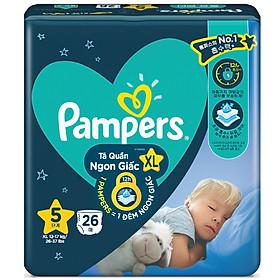 Tã quần Pampers ngủ ngon XL26