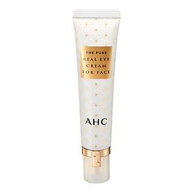 Kem Dưỡng Da Vùng Mắt Và Mặt AHC The Pure Real Với Thành Phần Axit Hyaluronic Làm Trắng, Chống Vết Nhăn (30ml)