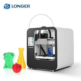 LONGER Cube 2 Mini Desktop 3D Printer Fully Assembled with 2.8 Inch LCD Touchscreen 120*140*105mm Print Size Detachable