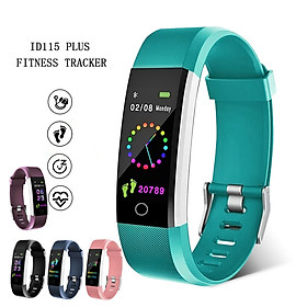 Fashion Smart Bracelet Heart Rate Blood Pressure Monitor IP67 Waterproof Sport Wristband Activity Fitness Tracker Band Color Screen Wrist Band Smart Watch for IOS Android