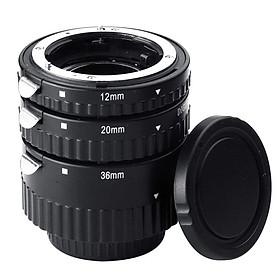 Extnp Auto Focus Macro Extension Tube Set for Nikon AF AF-S DX FX SLR Cameras