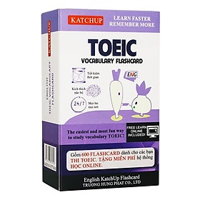 Bộ KatchUp Flashcard TOEIC - Best Quality (01B)
