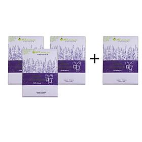 Combo 3 cao dán thải độc Lavender - Tặng 1 cao dán thải độc Lavender cùng loại