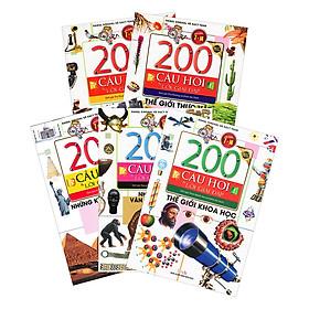 Combo 200 Câu Hỏi Và Lời Giải Đáp Phần 2 (Trọn Bộ 5 Cuốn) - Tặng Kèm Ngẫu Nhiên Truyện Cổ Tích