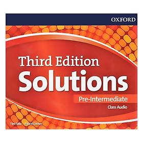 Solutions (3E) Pre-Intermediate Class Audio CDs
