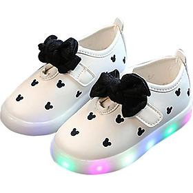 Giày Bé Gái Có Đèn LED Dạ Quang