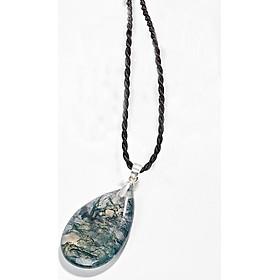Mặt Dây Chuyền Băng Ngọc Thủy Tảo Ngọc Quý Gemstones