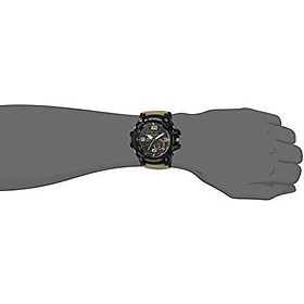Casio G Shock Quartz Watch with Resin Strap, Beige, 30 (Model: GG1000-1A5)