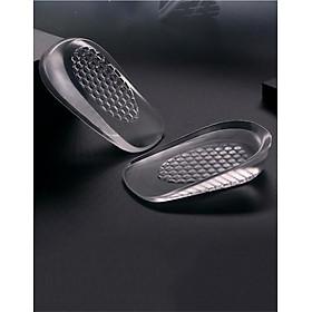 Lót giày tăng chiều cao nửa bàn silicon 2cm, phụ kiện tăng chiều cao dành cho cả nam và nữ