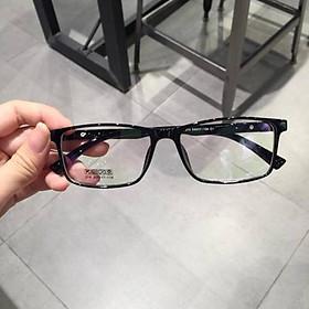 Gọng kính cận vuông 214, kính nhựa dẻo cho cả nam và nữ - Tiệm kính Candy