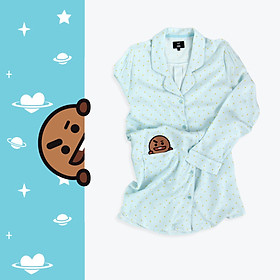 BT21 x HUNT One-piece Pajama Shooky HIYO84T02T