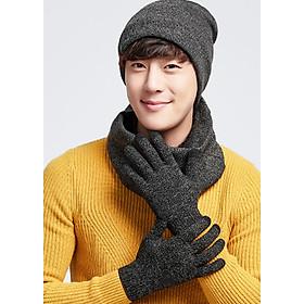 Combo nón, khăn, găng tay len cảm ứng điện thoại