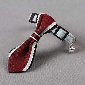 Vòng cổ cà vạt cho chó mèo nhỏ - Màu ngẫu nhiên.