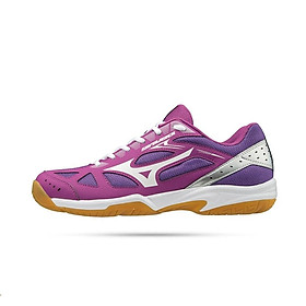 Giày bóng chuyền, giày cầu lông Mizuno Sky Blaster 71GA194567 thiết kế phù hợp cho bạn có khuôn chân dài dành cho nam màu tím đủ size