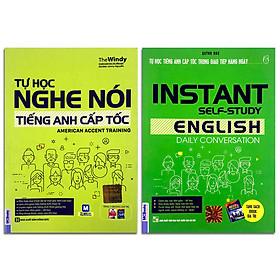 Combo 2 cuốn: Tự học nghe nói tiếng Anh cấp tốc + Tự học tiếng Anh cấp tốc trong giao tiếp hàng ngày