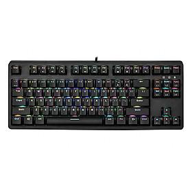 Bàn Phím Cơ Gaming E-Dra Ek387 Led RGB - Phiên Bản Nâng Cấp với Led RGB 16,8 triệu màu -  Hàng Chính Hãng