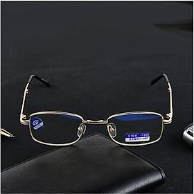 Kính lão thị sẵn độ có bao da kính nam tính lịch lãm siêu gọn siêu bền kính lão thị kính viễn thị KVT20CP3