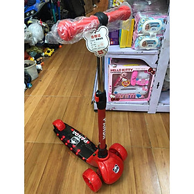 Xe trượt Scooter Gấu trúc - Panda cho trẻ em 2-6 tuổi (có nhạc và đèn)