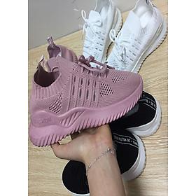 Giày sneaker nữ độn đế siêu êm HAPU K11
