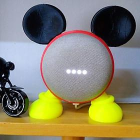 Google home mini đế đứng Mickey