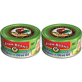 Lốc 2 Lon Cá Ngừ Ngâm Dầu Olive Ayam Brand (150g X 2)