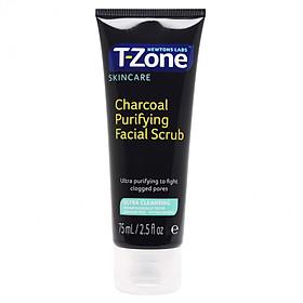 Tẩy Tế Bào Chết Than Hoạt Tính T-Zone Charcoal Purifying Facial Scrub 75ml