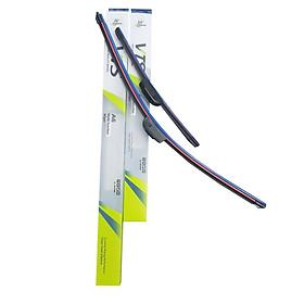 Bộ 2 thanh gạt nước mưa ô tô Nano xương mềm cao cấp dành cho hãng xe Honda: Accord - Civic - Hrv - City - Jazz - Crv