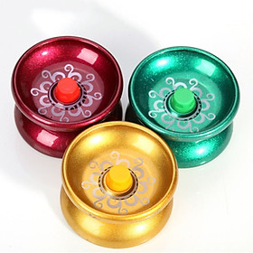 Cool Yo-Yo Kids Magic Juggling ToysToy Yoyo Alloy Cool Aluminum Design High Speed Professional YoYos Ball Bearing String Trick