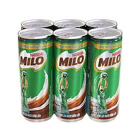 Thùng Sữa Nestle Milo Lon Nước (240ml / Lon)