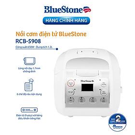 Nồi Cơm Điện Tử Bluestone RCB-5908 (1.2L) - Hàng chính hãng