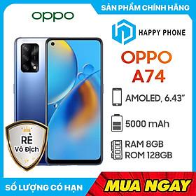 Điện Thoại Oppo A74 (8GB/128GB) - Hàng Chính Hãng - Đã kích hoạt bảo hành điện tử