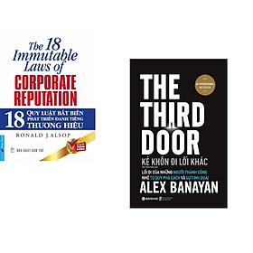 Combo 2 cuốn sách: 18 Quy Luật Bất Biến Phát Triển Thương Hiệu + Kẻ Khôn Đi Lối Khác