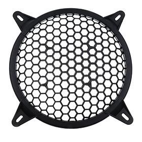 Universal Car Plastic Speaker Subwoofer Amplifier Cover Grill Mesh