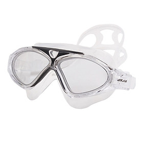 Swimming Goggles Anti-Fog UV Adjustable Transparent Swim Glasses Wide Vision Men Women Adult Waterproof Silicone Eyewear