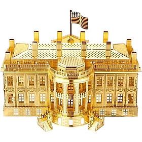 Mô hình lắp ráp kim loại Piececool P010-G - Nhà Trắng, phủ Tổng thống Mỹ